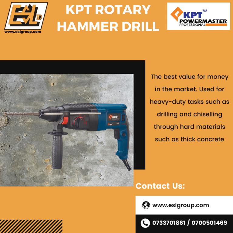 Virtual Canvas - KPT Rotary Hammer Drill